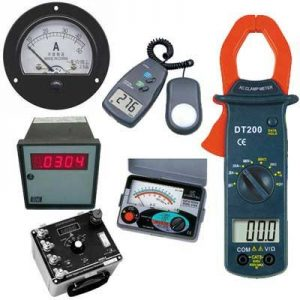 Electrical Measuring Instruments Calibration