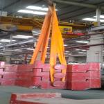 Overhead travelling crane load + overload test